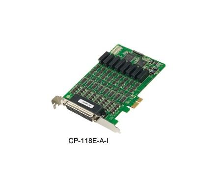 CP-118E-A-I - Placa Serial Pci Express X1, 8 Portas Rs-232/422/485, Proteção ContraSurto 4Kv E Isolação 2Kv