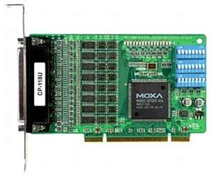 CP-118U-T - Placa Serial Pci Universal, 8 Portas Rs-232/422/485, TemperaturaOperação -40 A 85ºc