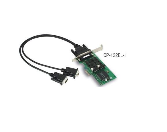 CP-132EL-I-DB9M - Placa Serial Pci Express X1, Perfil Baixo, 2 Portas Rs-422/485, ComIsolação 2Kv