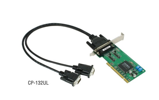 CP-132UL-DB9M - Placa Serial Pci Universal, Perfil Baixo, 2 Portas Rs-422/485, IncluiCabo Db9 Macho