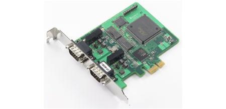 CP-602E-I - Placa Interface Can, Pci Express X1, 2 Portas Can, Com Isolação 2Kv