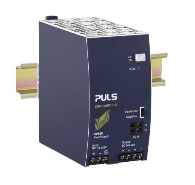 CPS20.241-D1 - Conversor Dc-Dc 480W, Entrada 110~300Vdc, Saída 48Vdc 10A