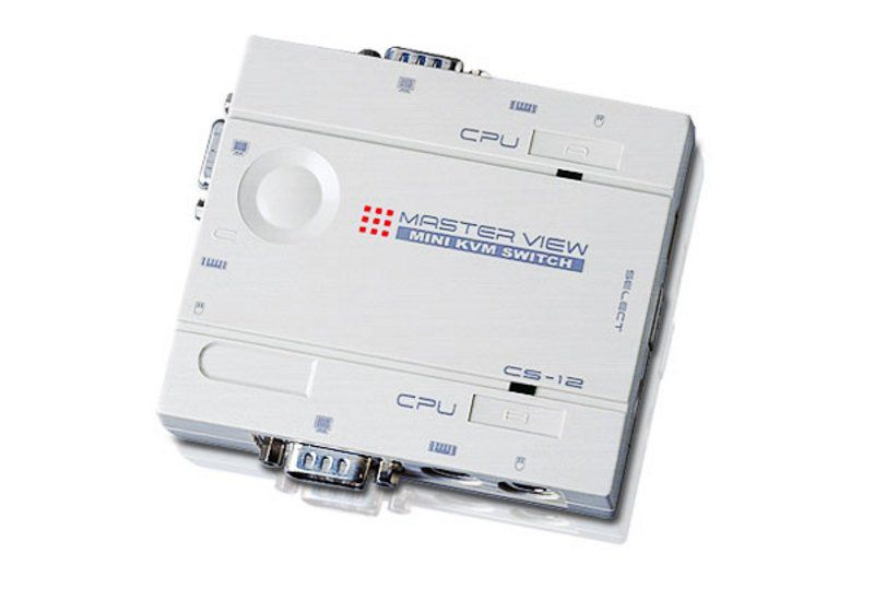 CS12C - Switch KVM Master View - PS/2