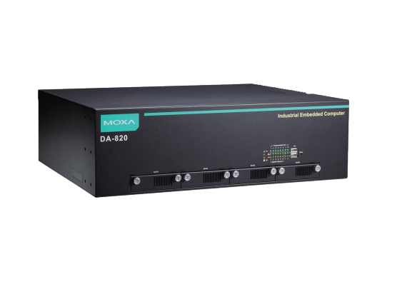 "DA-820-C7-DP-HV-T - Computador Rack 19"", 2U Dual Core I7-3355Le 2.5 Ghz, 2X 100~240Vac/Vdc, -40~75ºc, Sem Cfast/Ram/Os, Iec 61850"