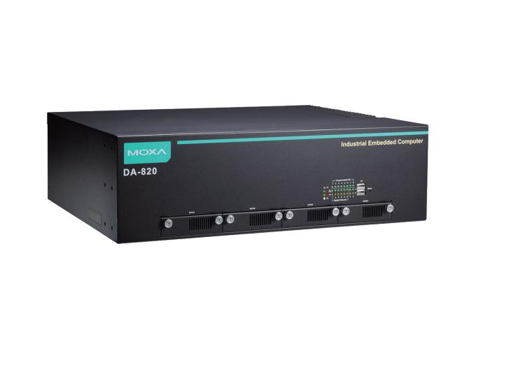 """DA-820-C7-SP-HV - Computador Rack 19"""", 2U Dual Core I7-3355Le 2.5 Ghz, 1X 100~240Vac/Vdc, -40~60ºc, Sem Cfast/Ram/Os, Iec 61850"""