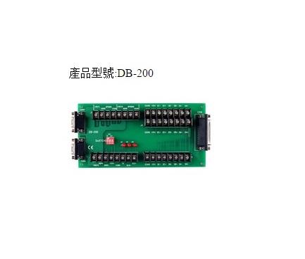 DB-200 - Borneira Com Bloco Terminais, Conectores 1X Db25 E 2X Db9 Para ConexãoCom Ps-300