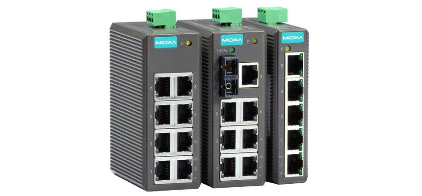 EDS-205 - Switch Ethernet Não Gerenciável, 5X 10/100Baset(X)