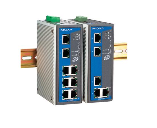 EDS-405A-PN - Switch Ethernet Gerenciável, 5X 10/100Baset(X), Profinet Habilitado,Temperatura Operação 0~60ºc