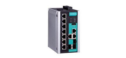 EDS-510E-3GTXSFP-T - Switch Ethernet Gerenciável, 7X 10/100Baset(X), 3X 10/100/1000Baset(X)Ou 100/1000Base Sfp, Temperatura Op -40 To 75°C