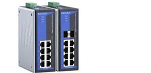 EDS-G308-T - Switch Industrial 8 Portas Gigabit Ethernet Rj 45 Não Gerenciável,10/100/1000Mbps, 12 - 48 Vdc Input, Trilho Din