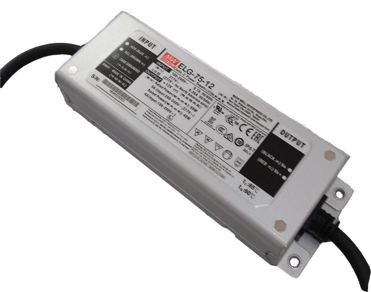 ELG-75- Fonte de Alimentação Chaveada 75Watts para LED