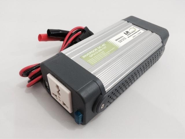 GPU12-350 - Inversor de Tensão DC/AC 350 Watts, Onda Senoidal Modificada