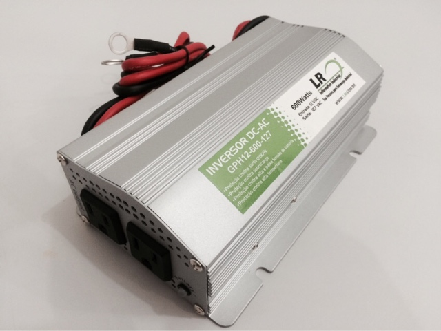 GPU12-600 - Inversor de Tensão DC/AC 600 Watts, Onda Senoidal Modificada