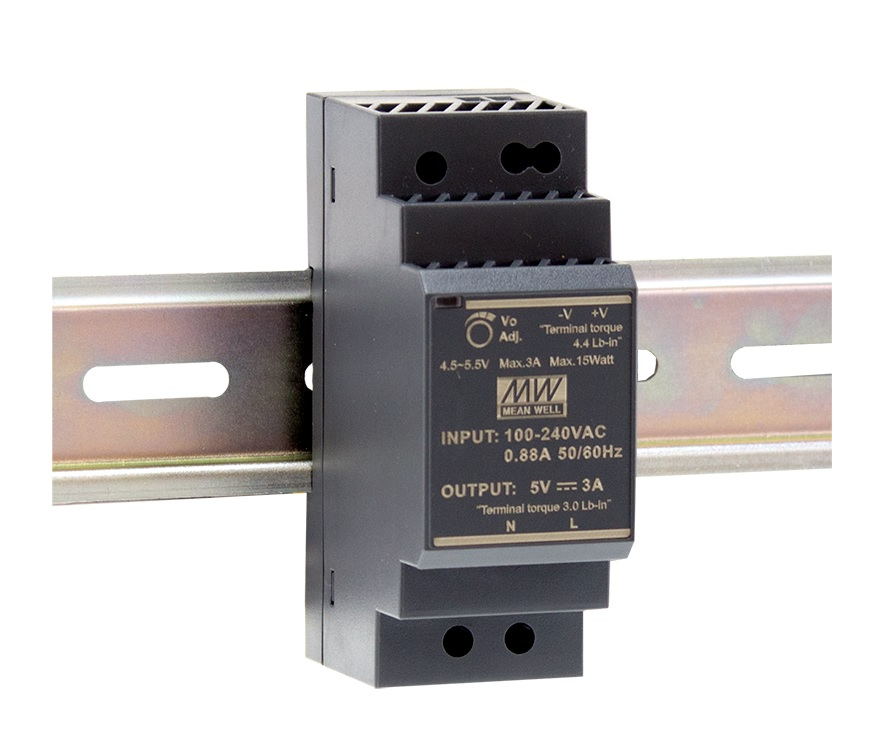 HDR-30 - Fonte de Alimentação Chaveada 30Watts, Trilho DIN