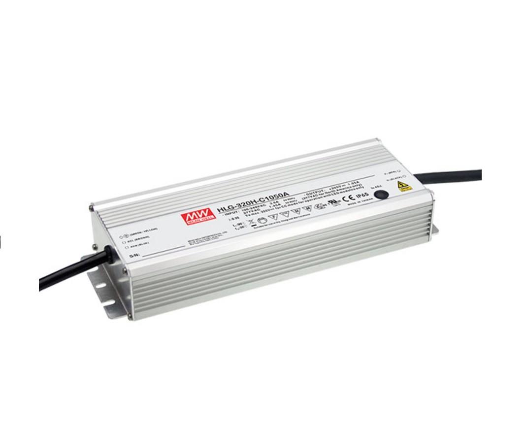 HLG-320H-C - Fonte de Alimentação Chaveada 320Watts para LED