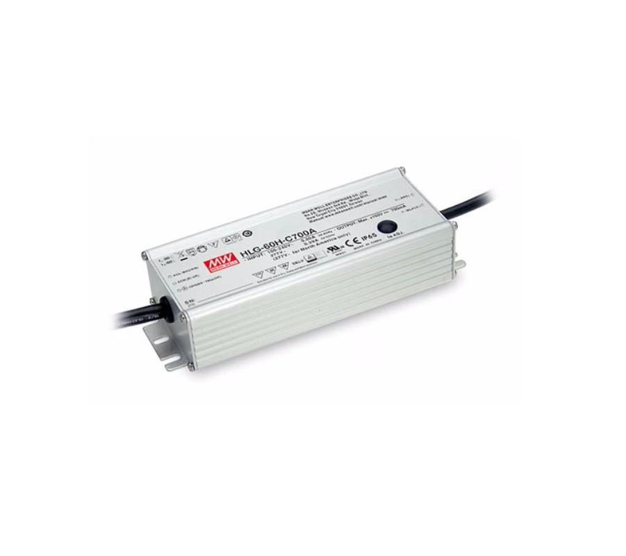 HLG-60H-C - Fonte de Alimentação Chaveada 60Watts para LED