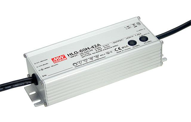 HLG-60H - Fonte de Alimentação Chaveada 60Watts para LED