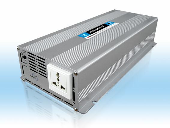 HT-S-12-1200 - Inversor de Tensão DC/AC 1200 Watts, Onda Senoidal Pura