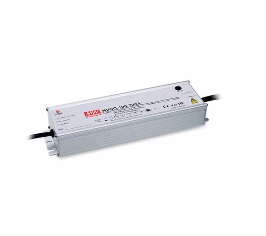 HVGC-100 - Fonte de Alimentação Chaveada 100Watts para LED
