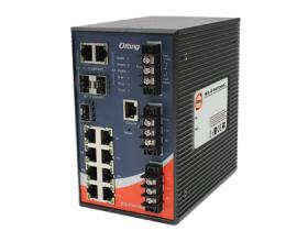 IES-P3073GC-HV - SWITCH ETH GER IEC 61850-3, 7 10/100BASET(X), 3 COMBO GLAN, SOQUETE SFP, 2 ALIM 88~373VDC 85~264VAC, TEMP OP -40~85ºC