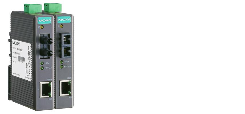 IMC-21-M-SC - Conversor Ethernet 1X 10/100Baset(X) Para Fibra Ótica 1X 100Basefx,Multimodo, Conector Sc, 5Km