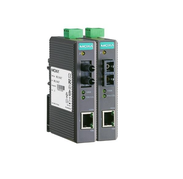 IMC-21-M-ST - Conversor Ethernet 1X 10/100Baset(X) Para Fibra Ótica 1X 100Basefx,Multimodo, Conector St, 5Km
