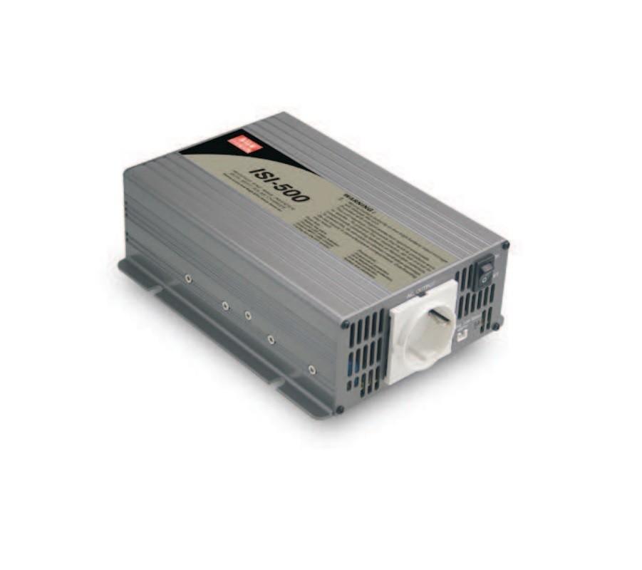 ISI-500 - Inversor DC/AC Com Onda Senoidal Modificada De 500W, Com Carregador Solar e Função Mppt