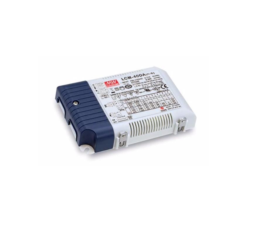 LCM-40DA - Fonte de Alimentação Chaveada 40Watts para LED