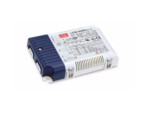 LCM-60DA - Fonte de Alimentação Chaveada 60Watts para LED