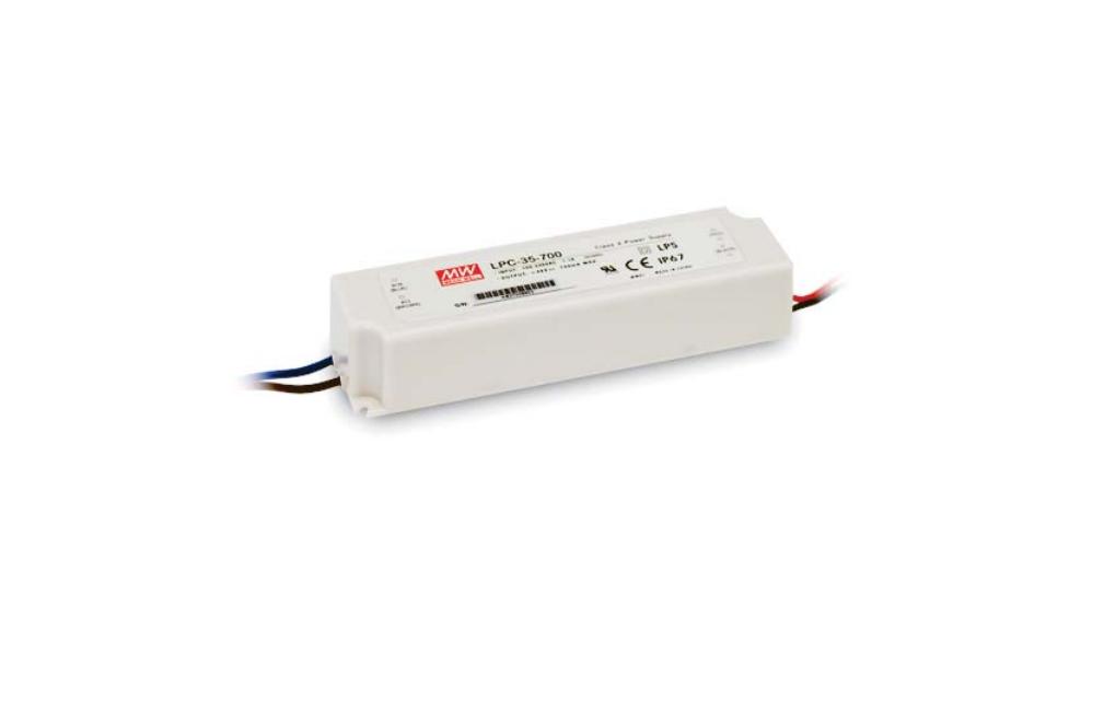 LPC-35 - Fonte de Alimentação Chaveada 35Watts para LED