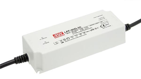 LPF-90 - Fonte de Alimentação Chaveada 90Watts para LED