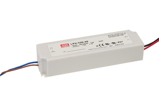 LPV-100 - Fonte de Alimentação Chaveada 100Watts para LED