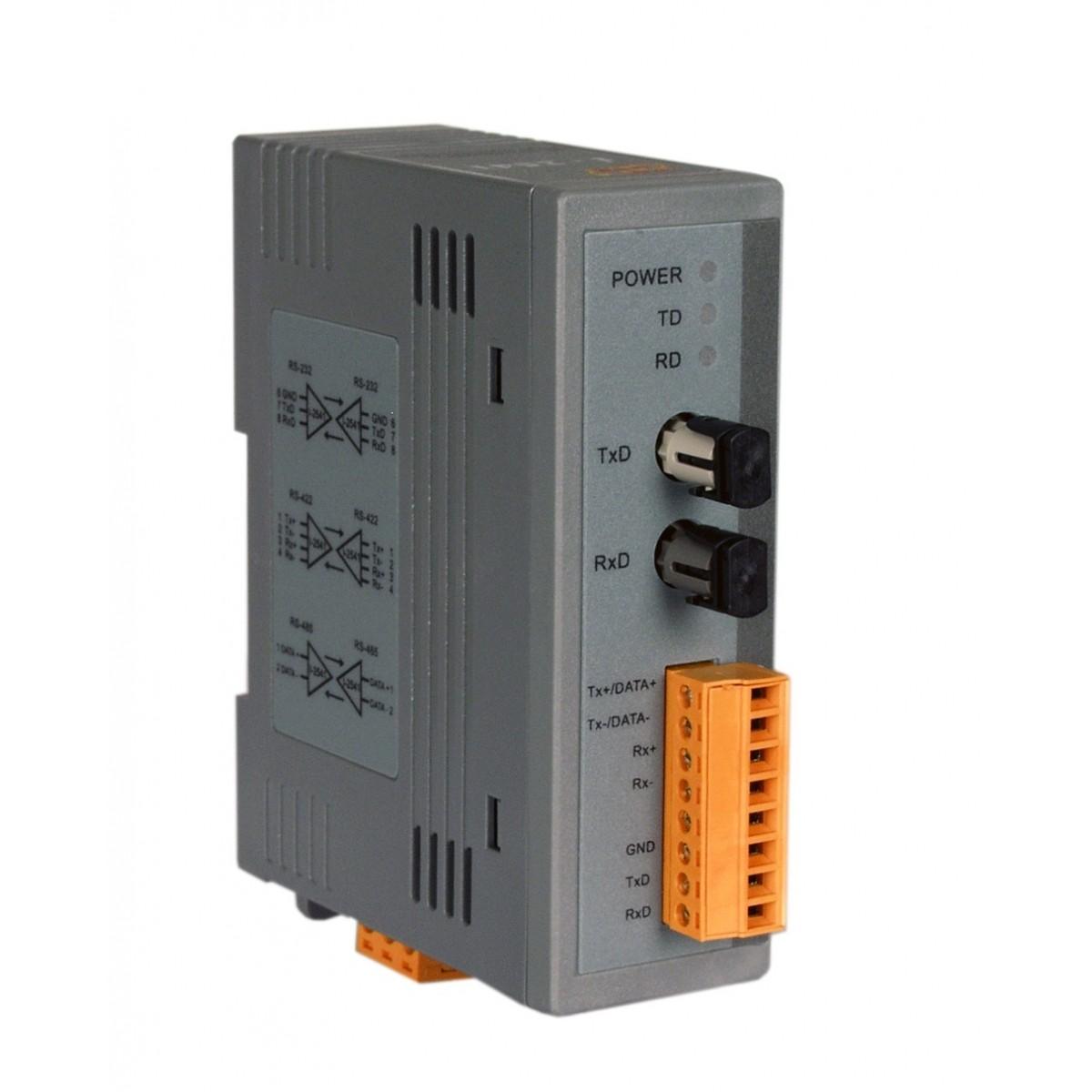 LR-2541 - Módulo Conversor Rs-232/422/485 Para Fibra Ótica Multimodo, ConectorSt