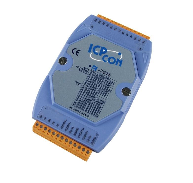 LR-7015 - Módulo RS-485 DCON, Entrada Sensores RTD