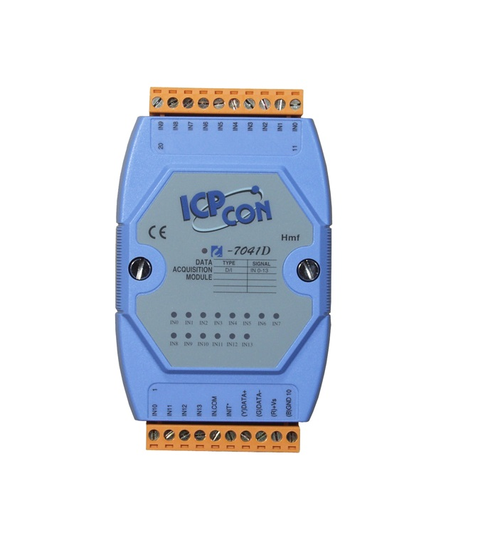 LR-7041D - Módulo Rs-485 Ascii, Entrada Digital Isolada