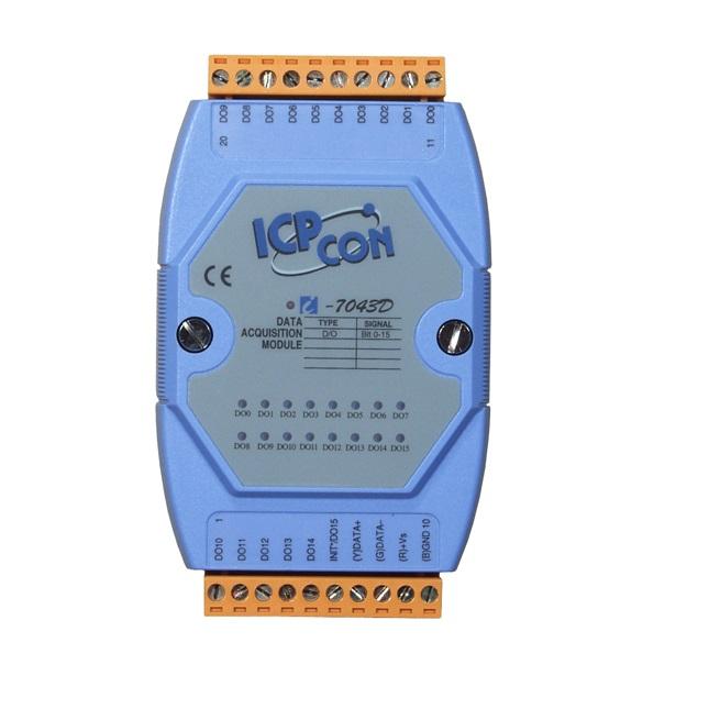 LR-7043D - Módulo Rs-485 Ascii, Saída Digital Isolada