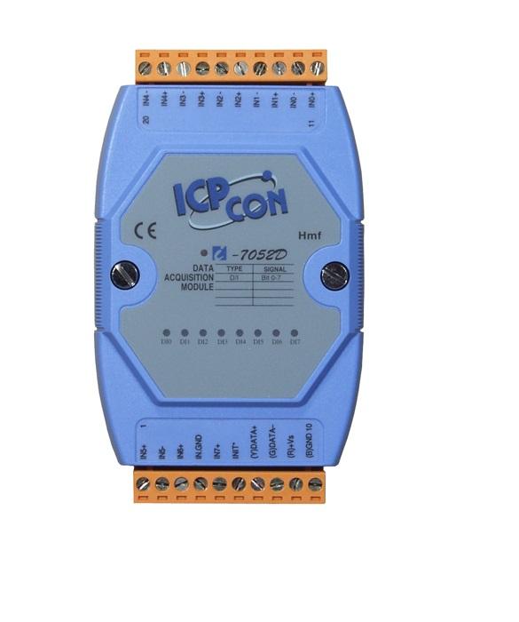 LR-7052 - Módulo Rs-485 Ascii, Entrada Digital Isolada