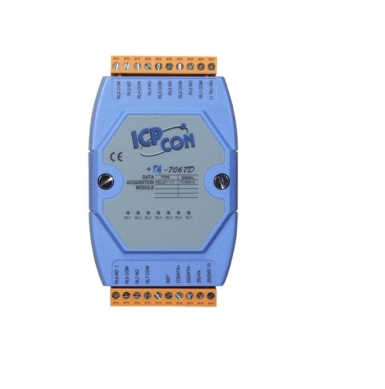 LR-7067 - Módulo Rs-485 Ascii, Saída A Relé Isolada