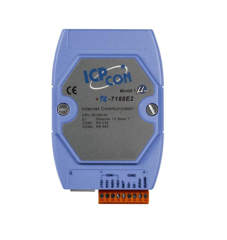 LR-7188E2 - Conversor Ethernet 10-Base -T Para 1X Rs-232 E 1X Rs-485