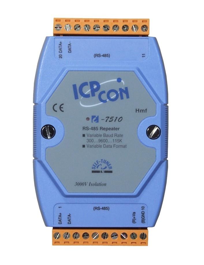 LR-7510 - Módulo Isolador e Repetidor RS-485, Isolação 3000Vdc