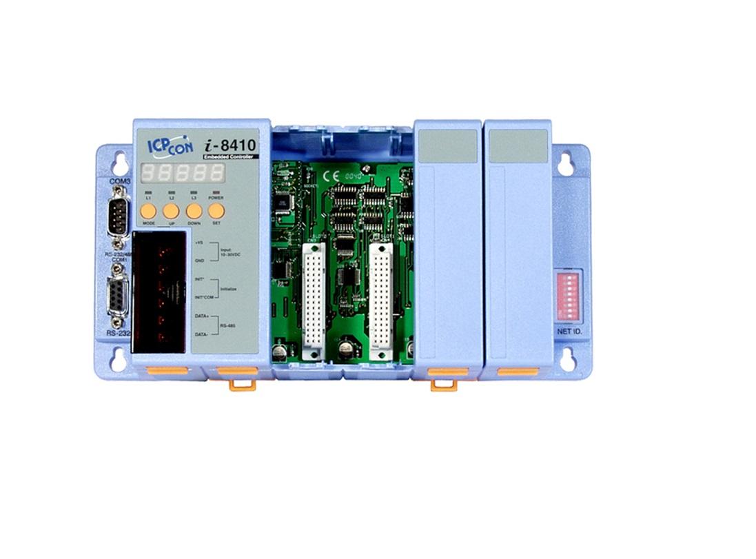 LR-8410 - Unidade De Controle 4 Slots, Módulos Da Série I-8K E I87K, 2 Seriais
