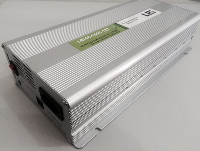 LRI48-1.5K - Inversor de Tensão DC/AC 1500 Watts, Onda Senoidal Modificada