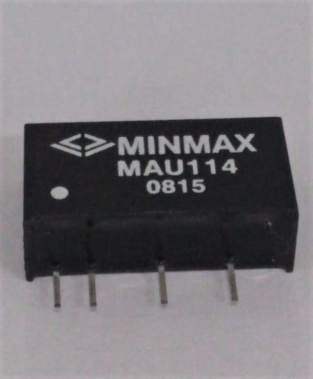 MAU114 - Conversor Dc-Dc Encapsulado De 1W, Entrada (10.8~13.2 Dvc) Saída (12Vdc/84Ma)