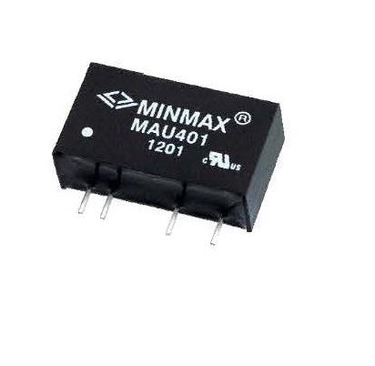 """MAU406 - Conversor Dc-Dc """"Ultra Isolação"""" Encapsulado De 1W, Entrada (4.5 ~ 5.5Vdc) Saída Dupla (+/-15Vdc"""