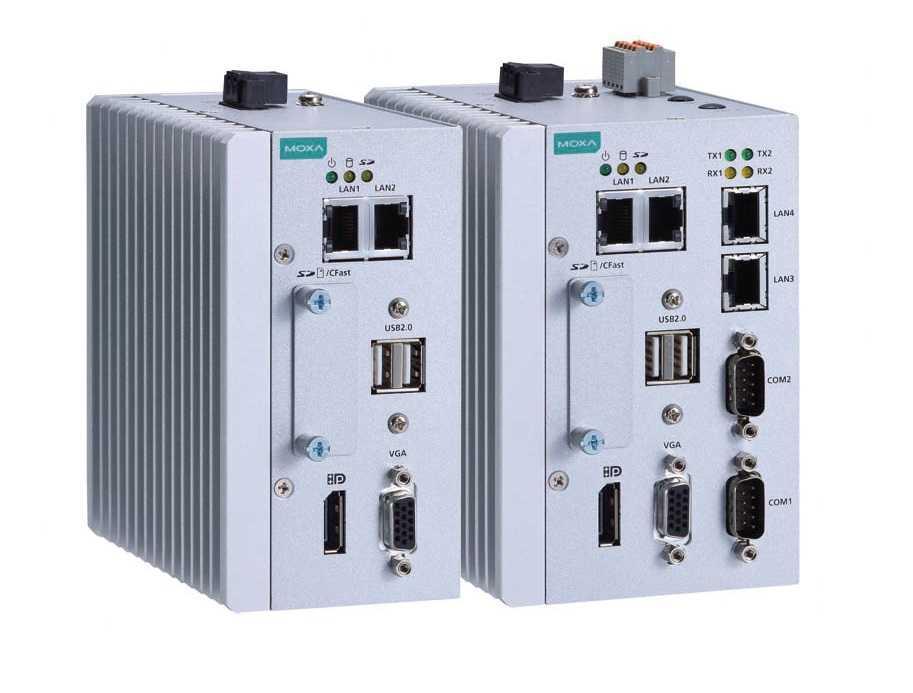 MC-1111-E4-T - Computador X86, Intel Atom Quad-Core E3845, 2Gb, Vga/Display, 2 Usbs,4 Glans, 2 Coms, 4 Dos 4 Dos, 1 Cf, 1 Sd, 12~36Vdc
