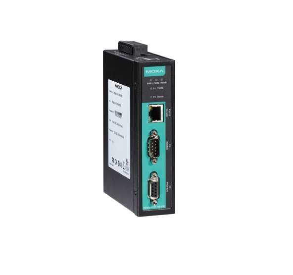 MGate 4101-MB-PBS - Gateway Modbus Rtu/Ascii Para Profibus Slave, 1X Rs-232/422/485, 1XProfibus Dp-V0 Slave Com Isolação 2Kv