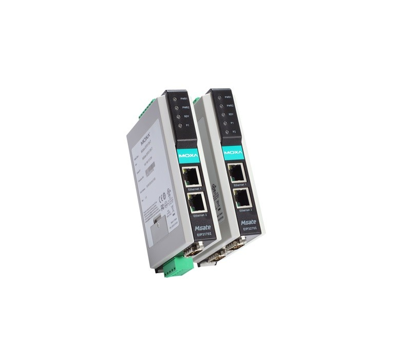 MGate EIP3170 - Gateway Ethernet/Ip Para Df1, 2X 10/100Mbps, 1X Rs-232/422