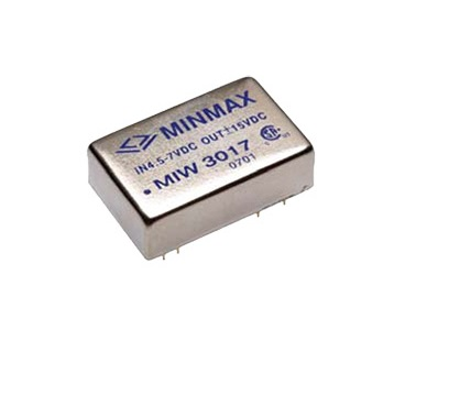 "MIW3024 - Conversor Dc-Dc Isolado, Encapsulado De 5-6W, Entrada ""Wide Range"" (9~ 18 Vdc) Saída (15Vdc @ 400Ma)"