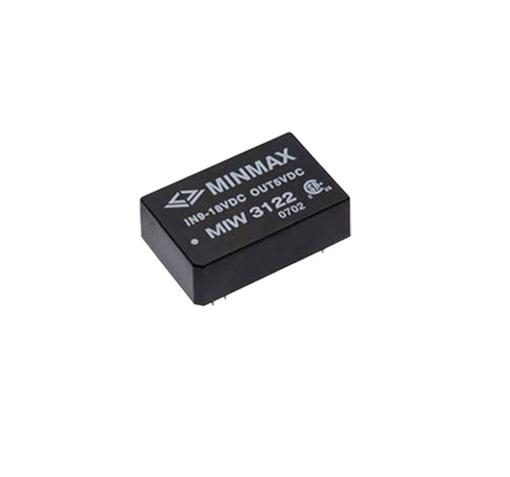 "MIW3136 - Conversor Dc-Dc Isolado, Encapsulado De 5-6W, Entrada ""Wide Range"" (18~ 36 Vdc) Saída Dupla (+/-12Vdc"