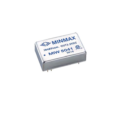 "MIW5042 - Conversor Dc-Dc Isolado, Encapsulado De 10W, Entrada ""Wide Range"" (36~ 75 Vdc) Saída (5Vdc @ 2000Ma)"
